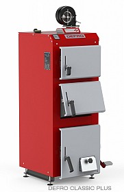 Cazan pe combustibil solid Defro Classic Plus 10kw