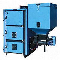Cazan pe combustibil solid pe pellet MCL BIO 120  (140kw)