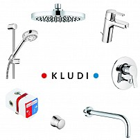 Set baterie Kludi LOGO 7 in 1 376300