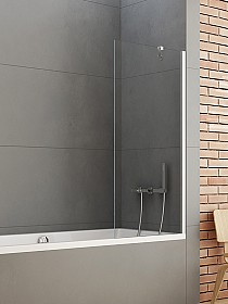 NT Paravan New Soleo Bathtub Screen Hinged 90x140 P-0032